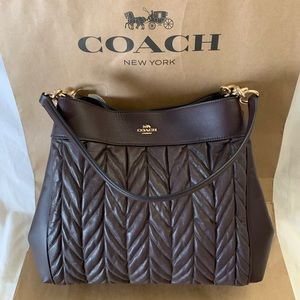 Coach Lexy Shoulder Bag with Quilting